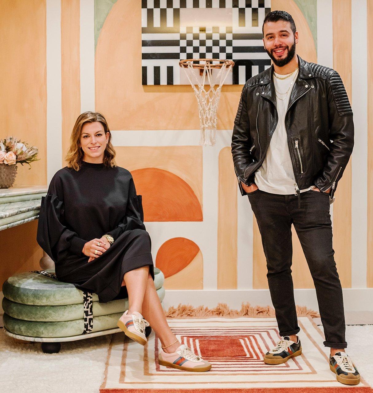 Monica Santayana and Ronald Alvarez of MONIOMI Design