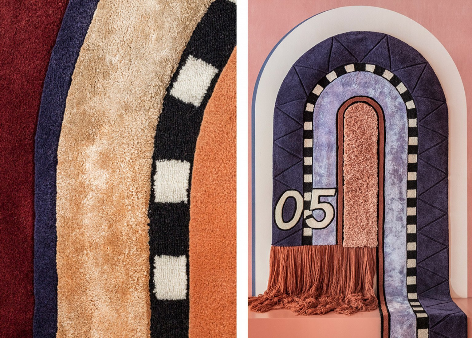 Tapestry Rugs by Moniomi Design
